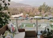 Hermoso departamento con vista panoramica en huechuraba 4 dormitorios 122 m2