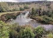 Venta de hermoso terreno sector la junta los lagos 6500 m2